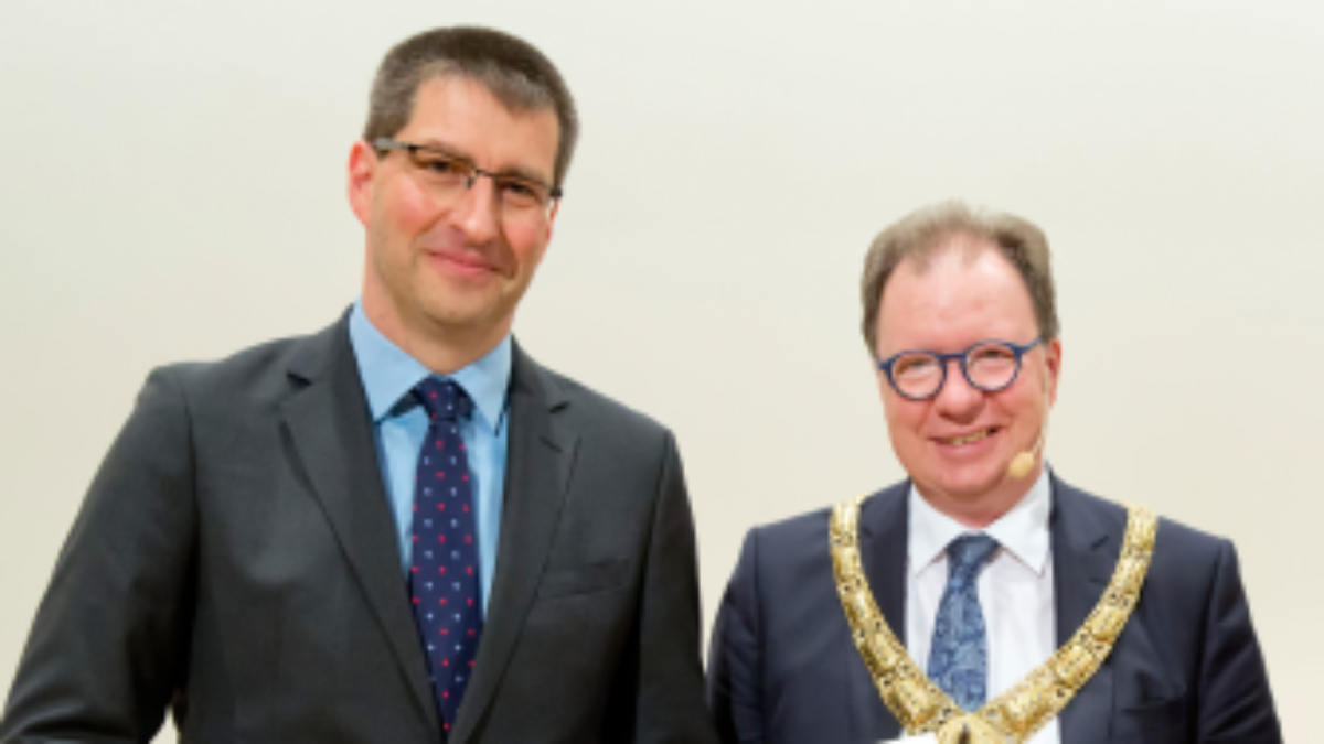 Prof. Michael Eisermann and Prof. Wolfram Ressel