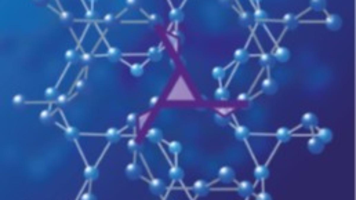 Forschung Physik Kristallgitter