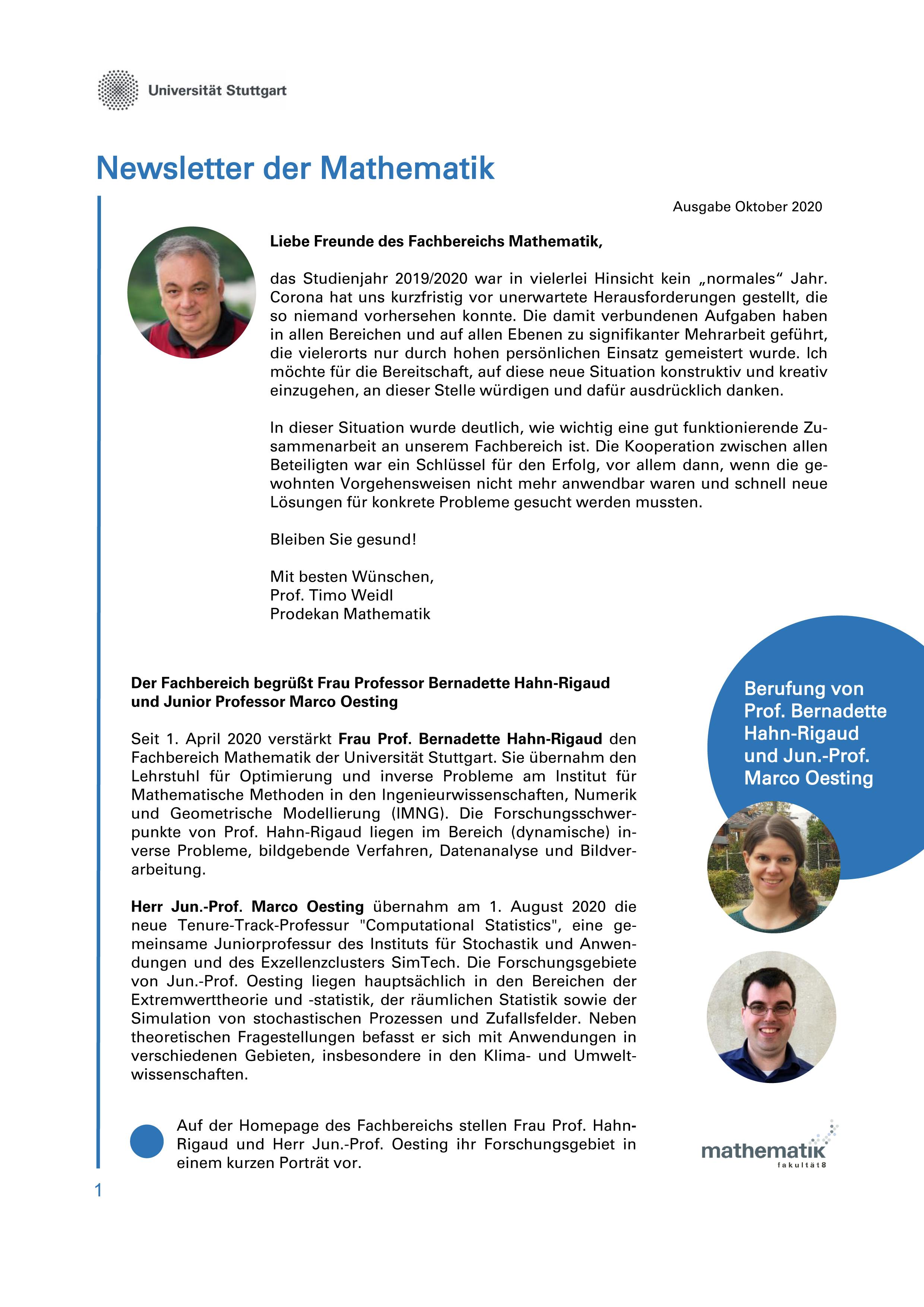 Newsletter 3 S1
