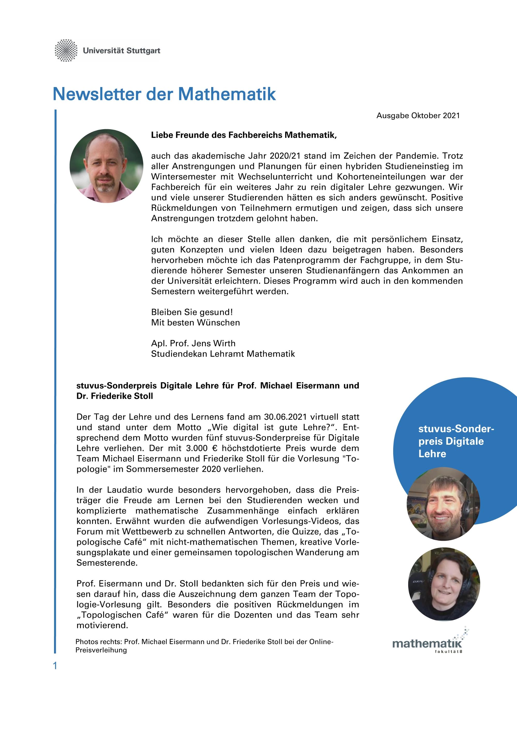 Newsletter 4S1