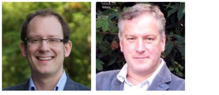 Prof. Frederik Witt und Prof. Meinolf Geck