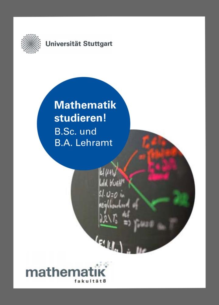 Bachelor- und Lehramtsstudiengang Mathematik
